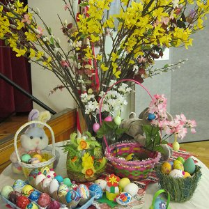 March 19, Easter at the Hungarian School