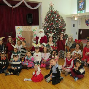 December 3, 2016 Santa Claus at the Hungarian School